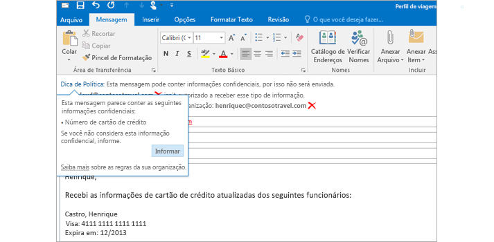 O que é Microsoft Exchange on-line?